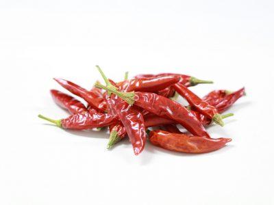 Bild getrocknete Chilis