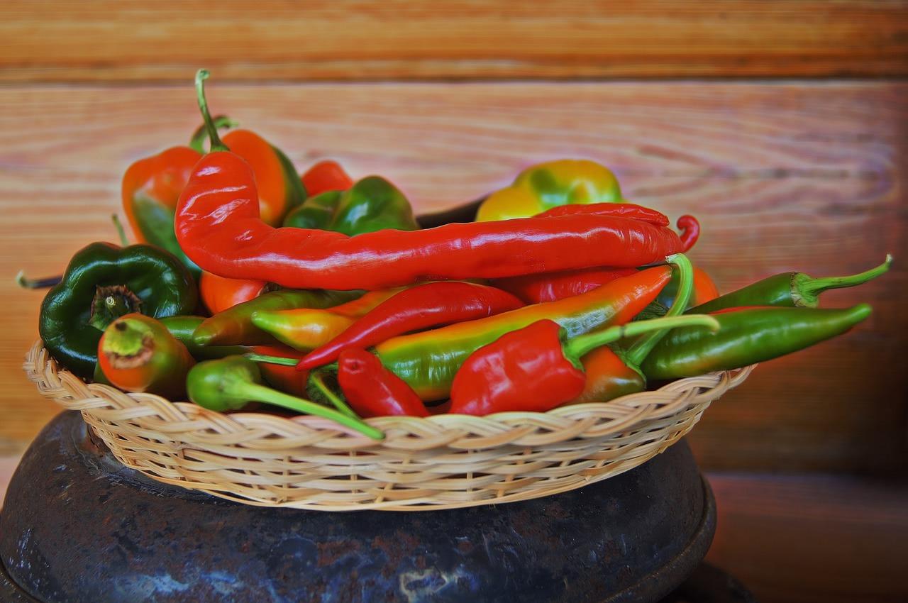Schärfste Chili Sorten