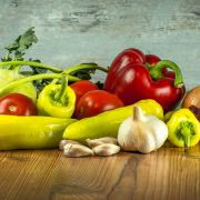 Bild Chilis Gemüse