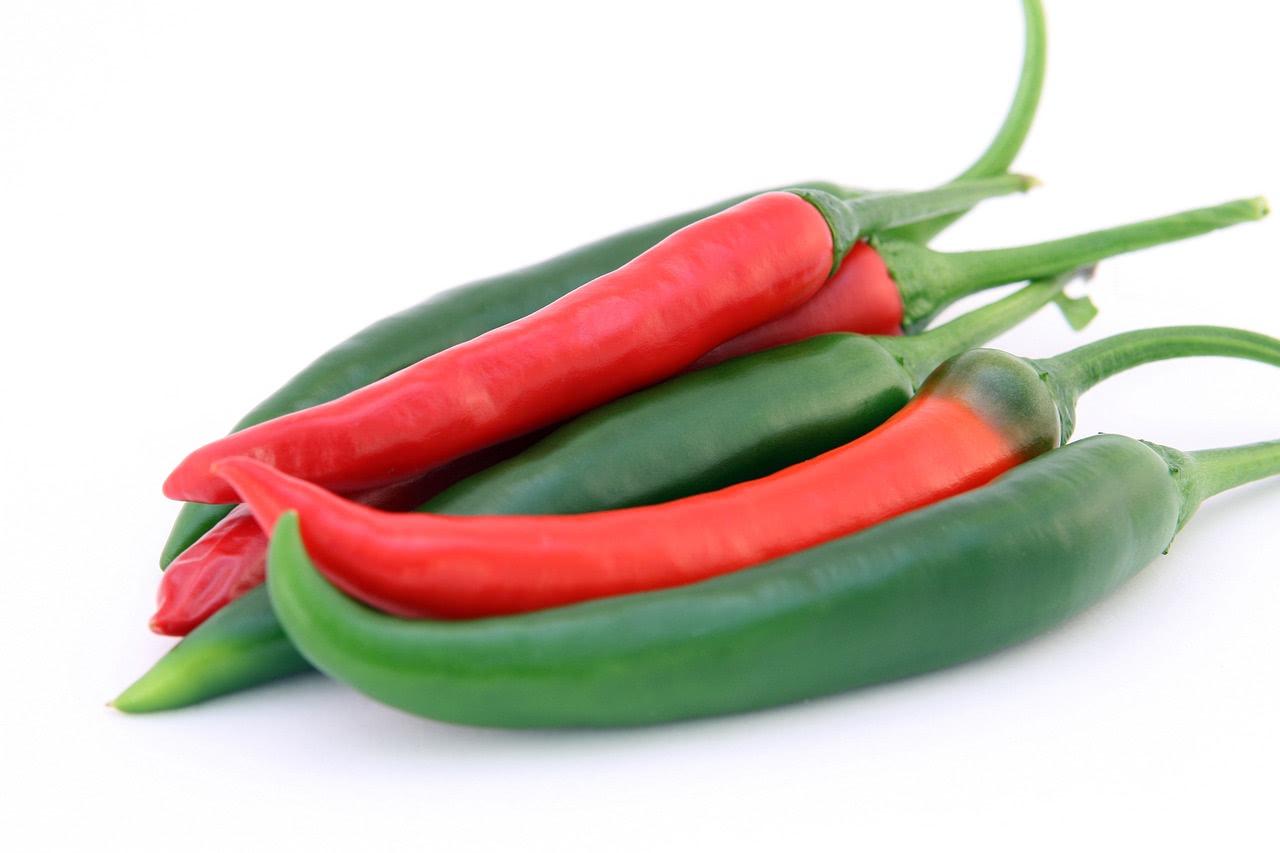 Gesunde Chilischoten
