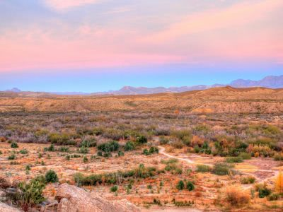 Bild Borderland Texas Mexiko
