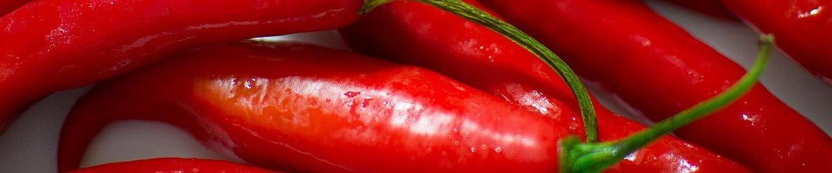 rote Chilis