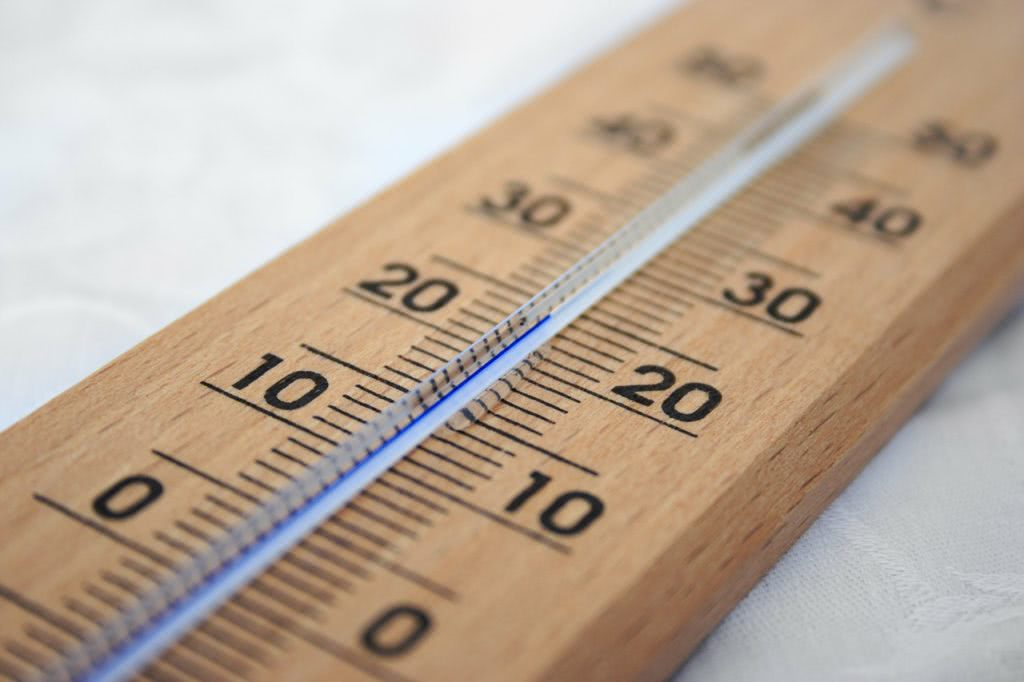 Bild Thermometer mit Skala